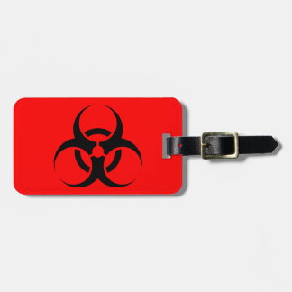 Biohazard Luggage Tag