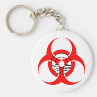 Biohazard Obama Key Chains