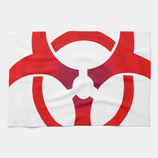 Biohazard - RED Tea Towel