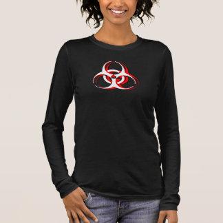 Biohazard Shirt - Dynamism - White Red Black