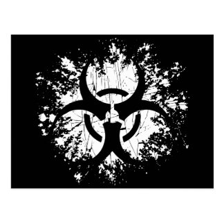 Biohazard -Splat Postcard
