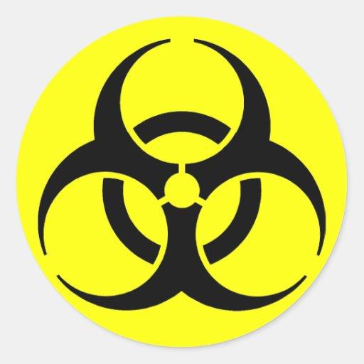 Biohazard! Stickers