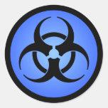 Biohazard Sticker Round Sticker