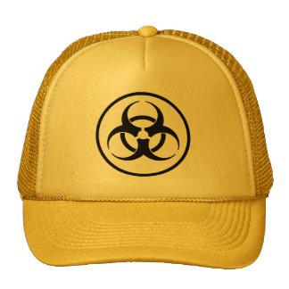 Biohazard Symbol Cap