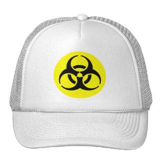 BioHazard Symbol Mesh Hat