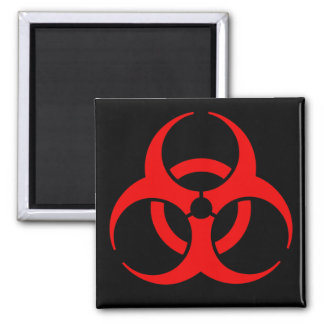 Biohazard Symbol Magnet