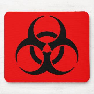 Biohazard Symbol Mouse Mat