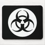 Biohazard Symbol Mousepad Mousepads