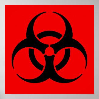 Biohazard Symbol Posters