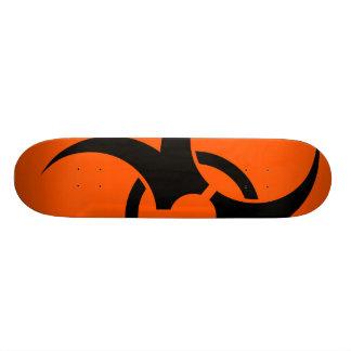 Biohazard Symbol Skate Deck