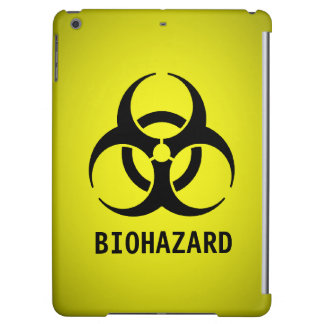 Biohazard Symbol (Yellow) Cover For iPad Air