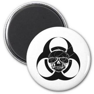 Biohazard Tattoo Skull Magnet