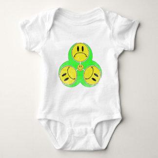 Biohazard Unhappy. Baby Bodysuit