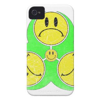 Biohazard Unhappy iPhone 4 Case
