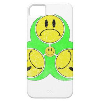 Biohazard Unhappy iPhone 5 Covers