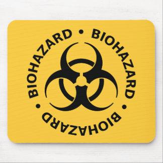 Biohazard Warning Mouse Mat