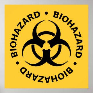 Biohazard Warning Posters
