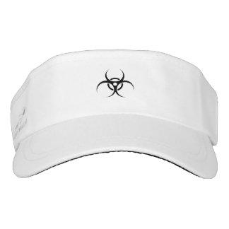 Biohazard Warning Symbol Visor