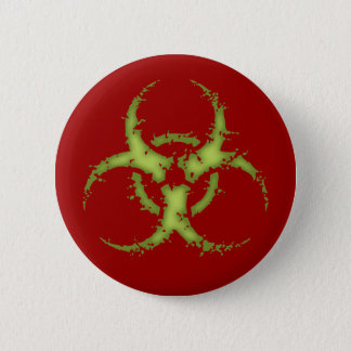 Biohazard -xdist 6 cm round badge