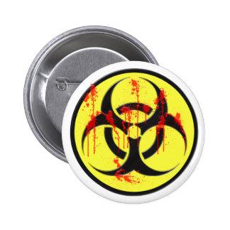 Biohazard Zombie Outbreak Button