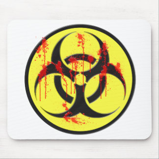 Biohazard Zombie Outbreak Mouse Pad