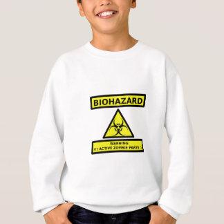 Biohazard zombie sweatshirt