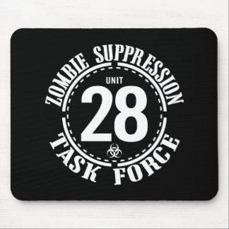 Biohazard Zombie Task Force Mouse Pad