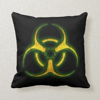 Biohazard Zombie Warning Cushion