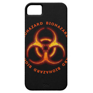 Biohazard Zombie Warning iPhone 5 Cover