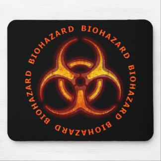 Biohazard Zombie Warning Mouse Mat