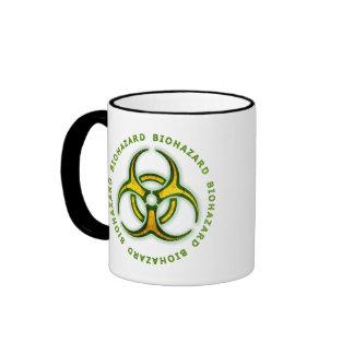 Biohazard Zombie Warning Mugs