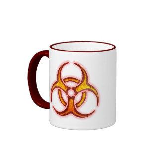 Biohazard Zombie Warning Coffee Mug