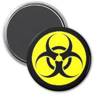 Biological Hazard 7.5 Cm Round Magnet
