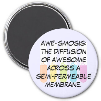 Biology & Chemistry Teachers: Science is Awesome 7.5 Cm Round Magnet