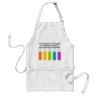 Biology & Chemistry Teachers: Science is Awesome Standard Apron