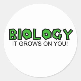 Biology Classic Round Sticker