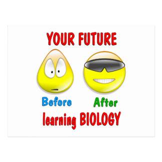 Biology Future Postcard