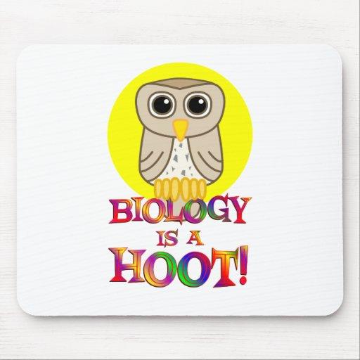 Biology is a Hoot Mousepads