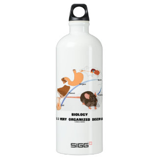 Biology Is A Very Organized Discipline SIGG Traveller 1.0L Water Bottle