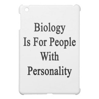 Biology Is For People With Personality iPad Mini Case