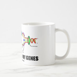 Biology Is In My Genes (DNA Replication) Basic White Mug