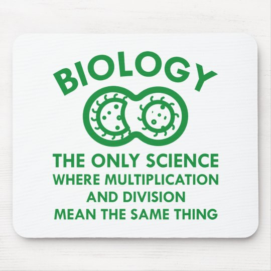 Biology Is In My Genes Mouse Mat