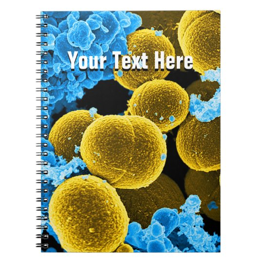 Biology Microbiology Abstract Notebook Template