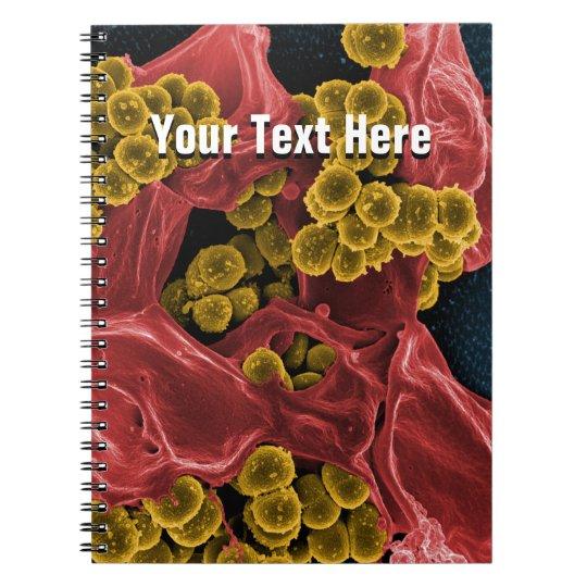 biology microbiology personalised notebook journal