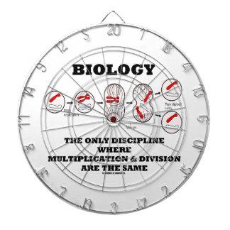 Biology Only Discipline Multiplication Division Dartboards