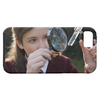 Biology student studying plant iPhone 5 cover