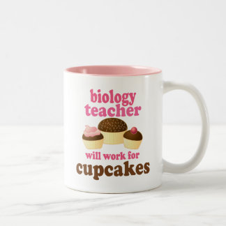 Biology Teacher (Funny) Gift Two-Tone Coffee Mug