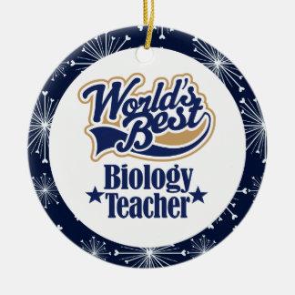 Biology Teacher Gift Ornament
