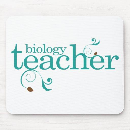 Biology Teacher Mouse Pads