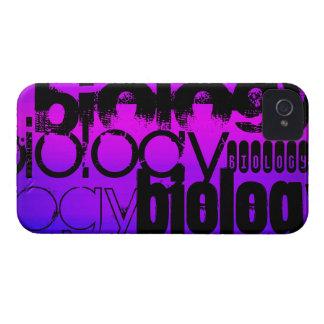 Biology; Vibrant Violet Blue and Magenta Case-Mate iPhone 4 Cases